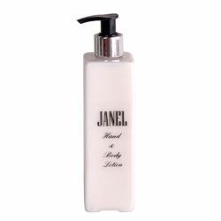 Deluxe jojoba enriched hand and body lotion in plastic bottle 300ml