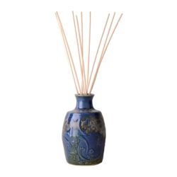 French-Country-Home-reed-diffuser-ceramic-vase-with-100ml-oil-gift-BLUE-