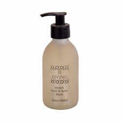 JE Living jojoba enriched hand and body wash glass bottle 200ml