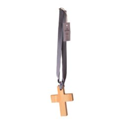 JE Living wooden cross scented on ribbon 130(L) x 95(W)mm