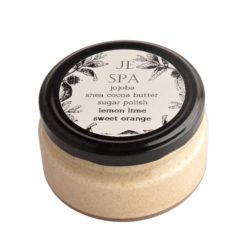 JE Spa jojoba shea cocoa butter sugar polish 200ml