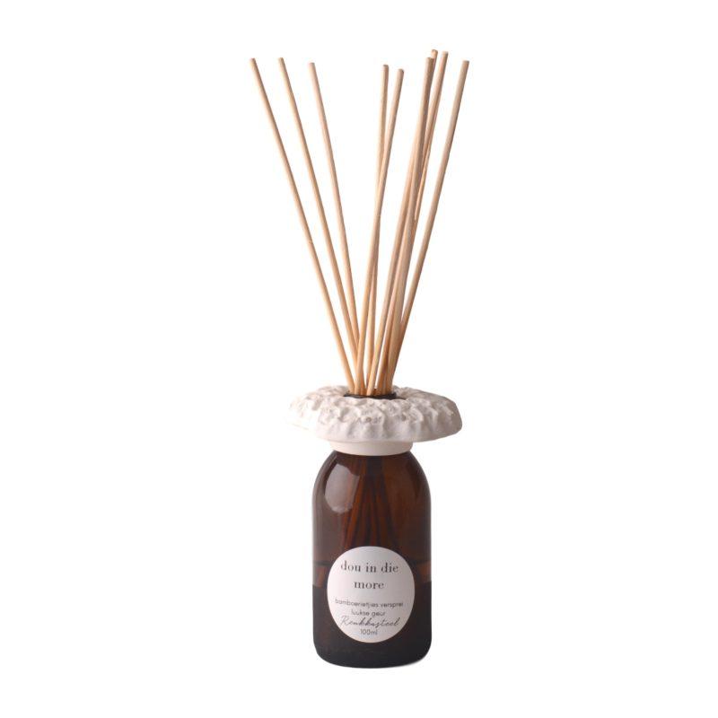 Reukkasteel-glas-houer-bamboesrietjie-diffuser-geskenk-met-100ml-olie-