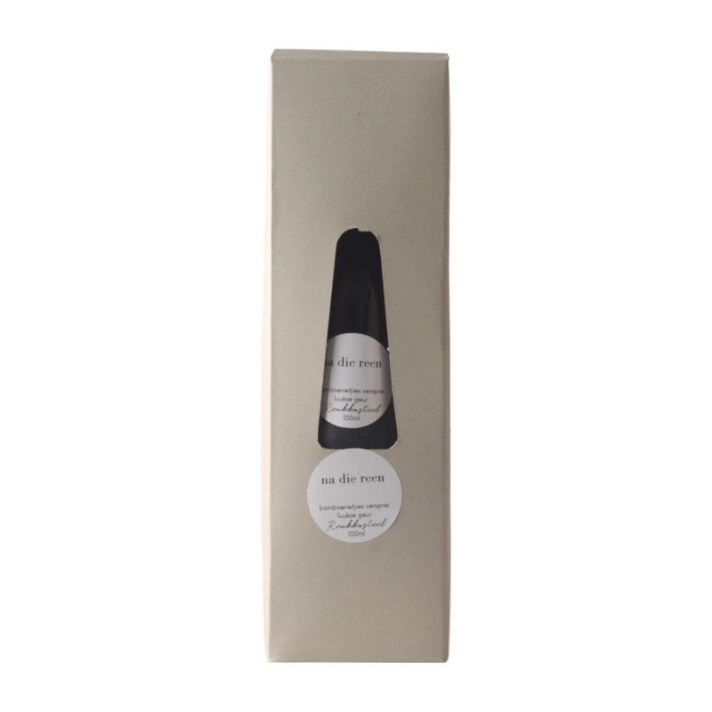 Reukkasteel-glas-houer-bamboesrietjie-diffuser-geskenk-met-100ml-olie