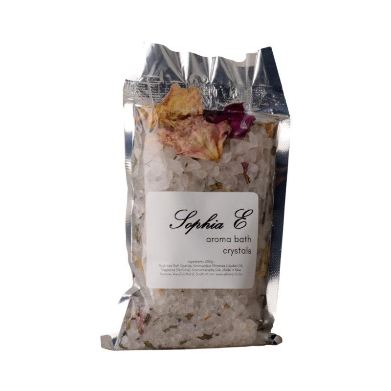 Sophia E aroma rock crystals in white bag 250g 1