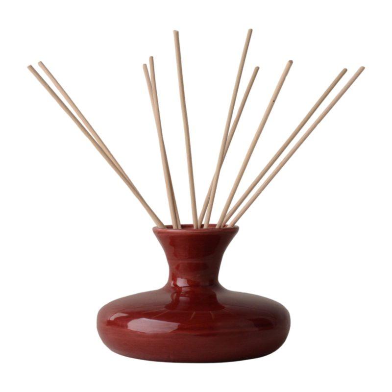 -Sophia E handmade ceramic reed diffuser set in gift box 100ml