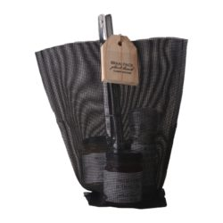 Classy-Kitchen-braai-pack-rosemary-salt-grinder-chillie-flakes-in-olive-oil-original-mustard-roasted-coriander-spice-tong-mesh-black-bag-