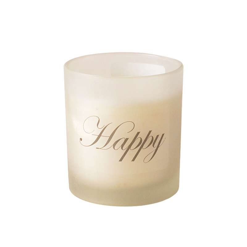 Aroma candle in frosted glass in gift box – NOVELTY SIGNS